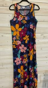 🎁3/$27🎁LoLaRoe floral maxi dress